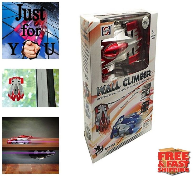Christmas Gift For Kid Boy Wall Climber RC Car Stunt Remote Control Electric Toy #JJXTECH