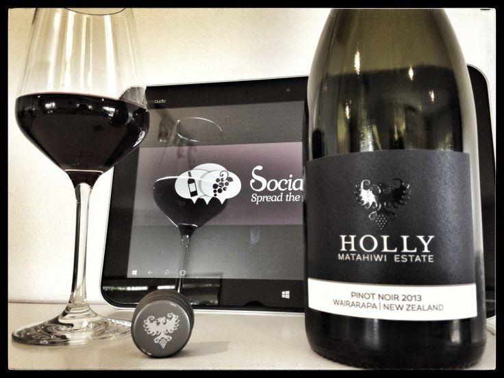 Good Exuberant New Zealand Pinot Noir Great complexity & balance - Score 91 Matahiwi Estate Holly Pinot Noir, Wairarapa