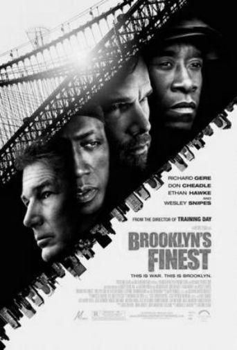 Brooklyns Finest poster Metal Sign Wall Art 8in x 12in