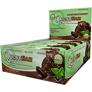New Flavor alert! Quest Bar - MINT CHOCOLATE CHUNK (12 Bars)
