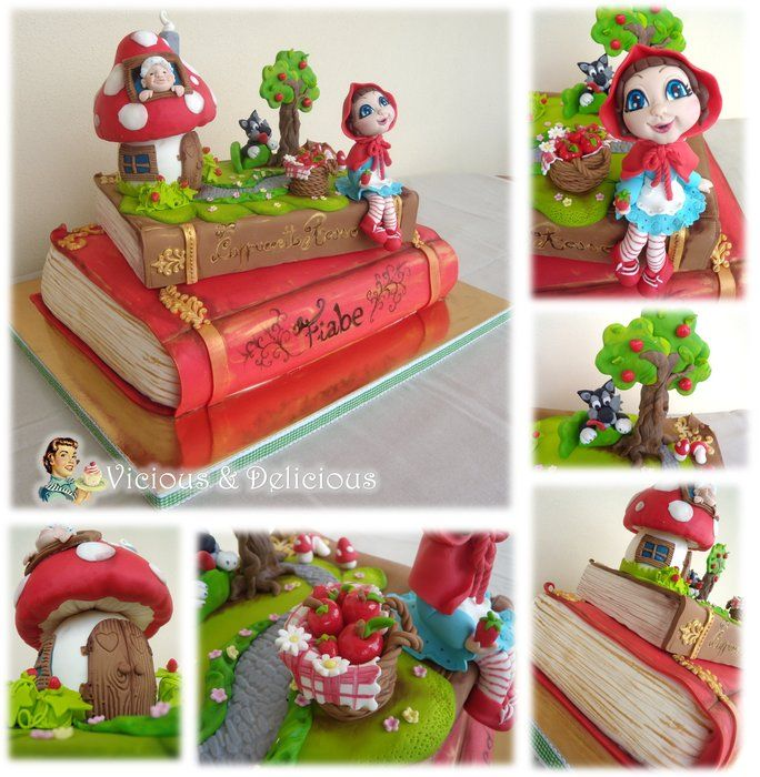 little red riding hood cakes | Lovely Little Red Riding Hood - by Vicious & Delicious by Sara Solimes ...