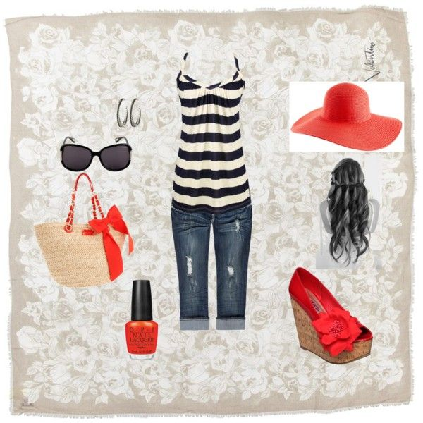 4th of July outfit, created by stylesetter-508