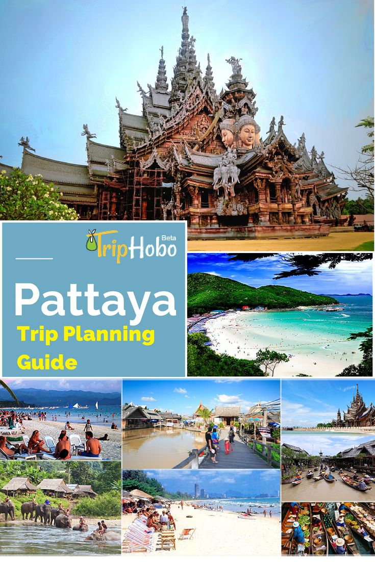 Things to do in #Pattaya - Pattaya Travel Planning Guide (Not textual....Interactive! take with you)