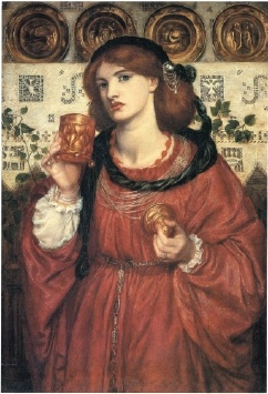 Dante Gabriel Rossetti - The Loving Cup