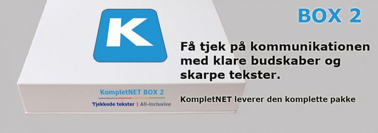 KompletNET.dk | Komplette løsninger til nettet | Online Markedsføring, Tekstforfatter, Webudvikling, Søgemaskineoptimering