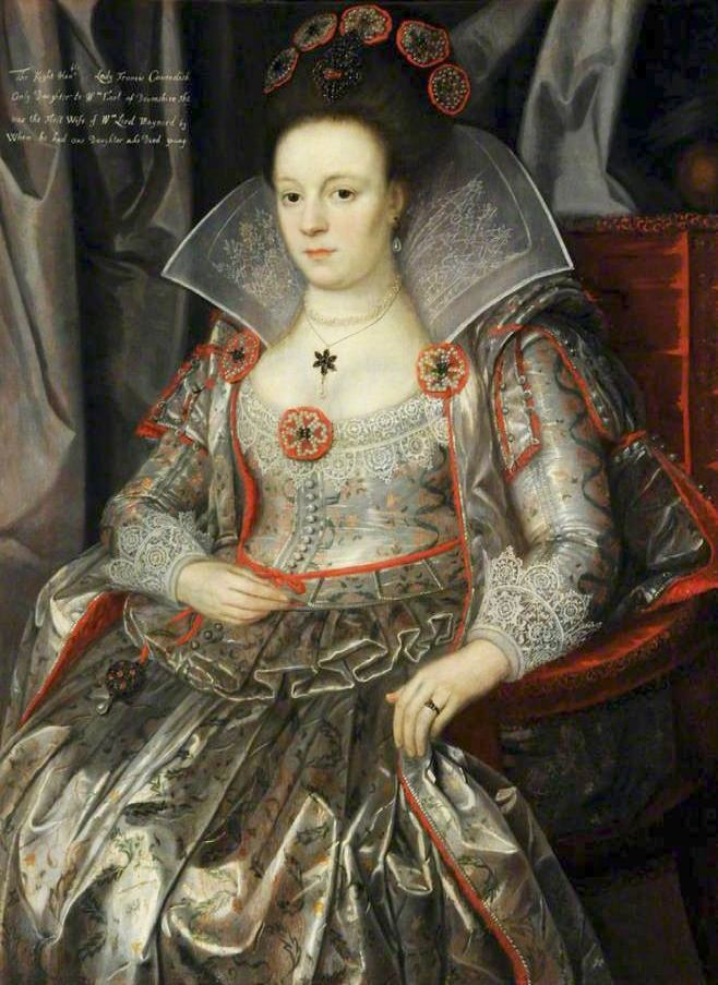 1610s - Lady Frances Cavendish (1595–1613), Lady Maynard by Marcus Gheeraerts the younger