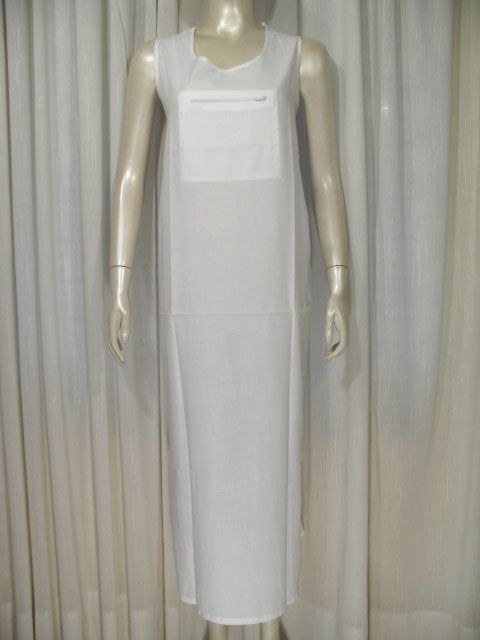 White Under Abaya Dress...for when I go on hajj and umra...one day inshAllah