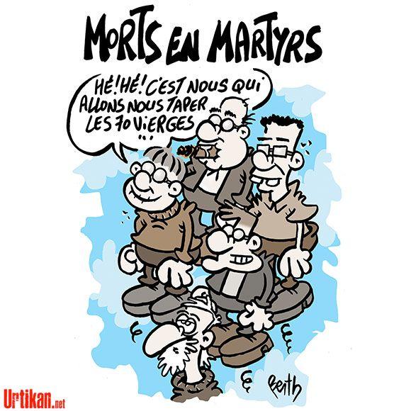 Charlie Hebdo : la suite - Dessin du jour - Urtikan.net Les hommages dessinés à Charlie Hebdo #je_suis_charlie