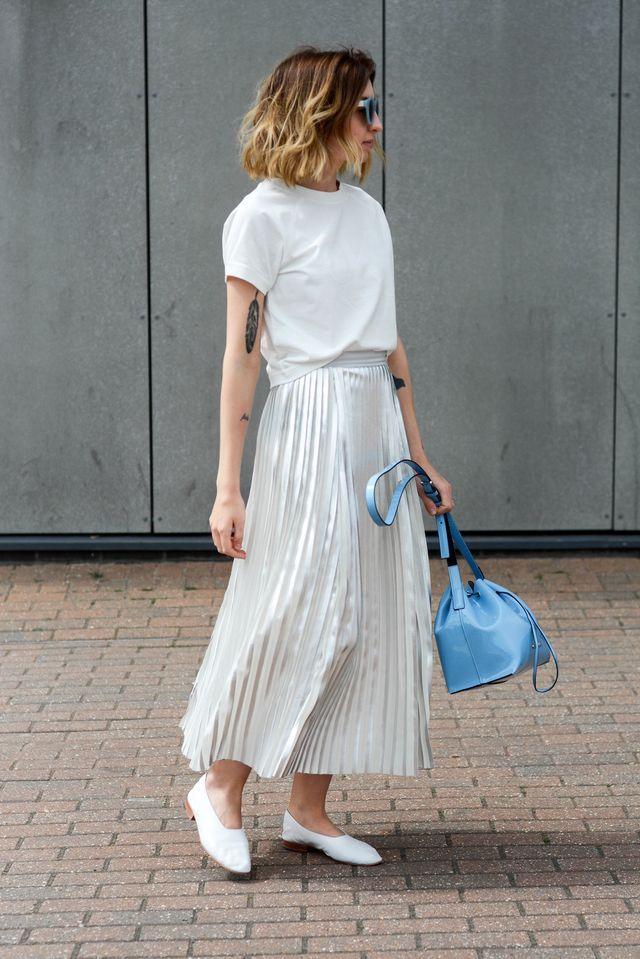 The Metallic Skirt (Brittany Bathgate)