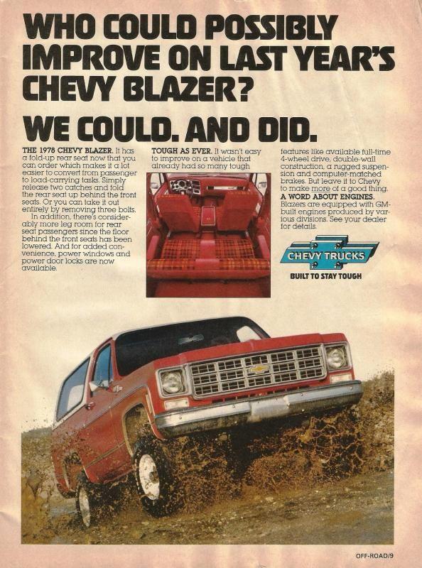 78 Chevy Blazer