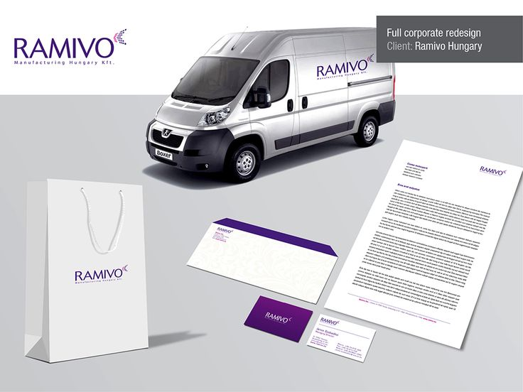 purple logo and concepts for branding