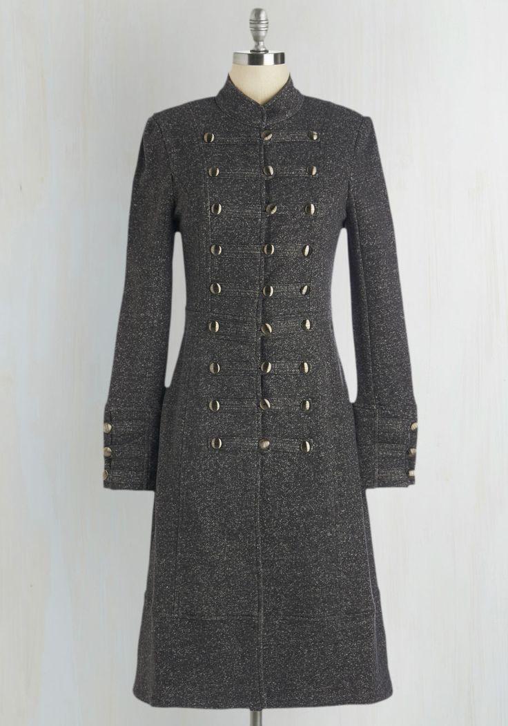 Fashion-Forward March Coat, #ModCloth