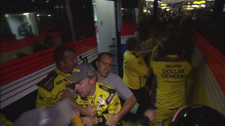 I was there!! And it was AMAZING! Saturday night fight: Emotions spill over for Kenseth, Keselowski | FOX Sports
