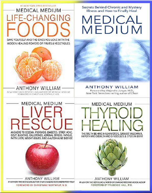 Anthony Willian - Medical Medium - Liver Rescue -Thyroid