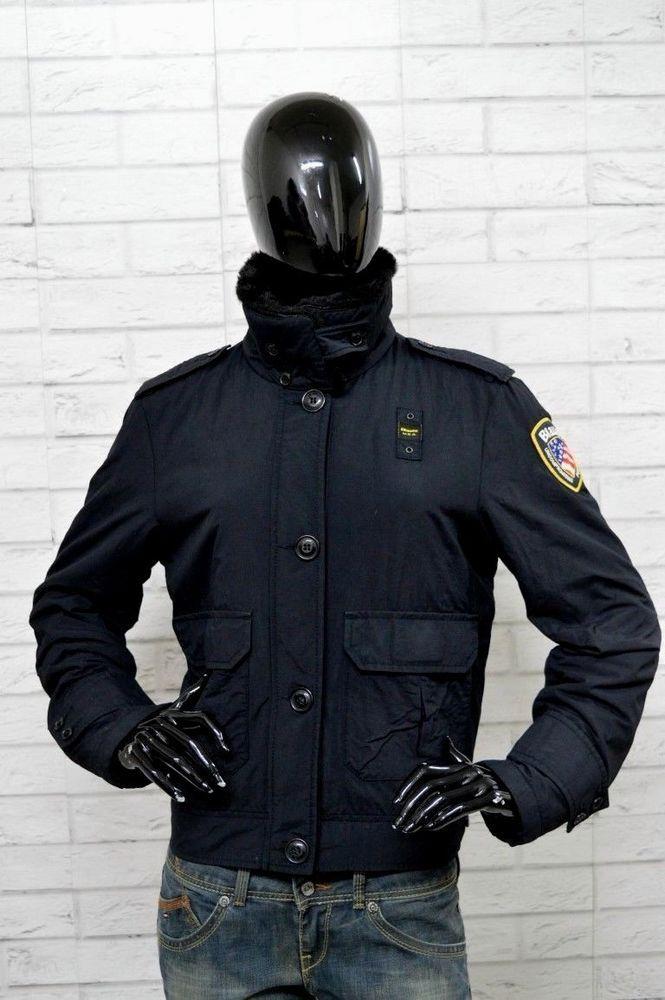 huge discount 2ac5b 5cdca Giubbino BLAUER Donna Woman Taglia XL Giacca Nera Jacket ...