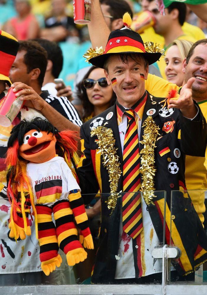 The Germany Fan From Sesame Street   www.dribblingman.com