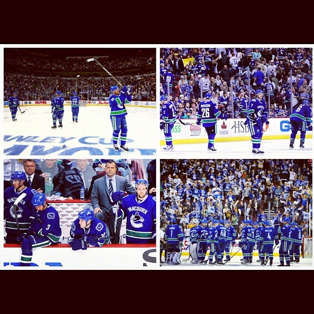 This season wasn't supposed to end this way, it wasn't supposed to end this soon. But there's always next year Canucks, and I'll be proudly cheering you on. <3 #canucks