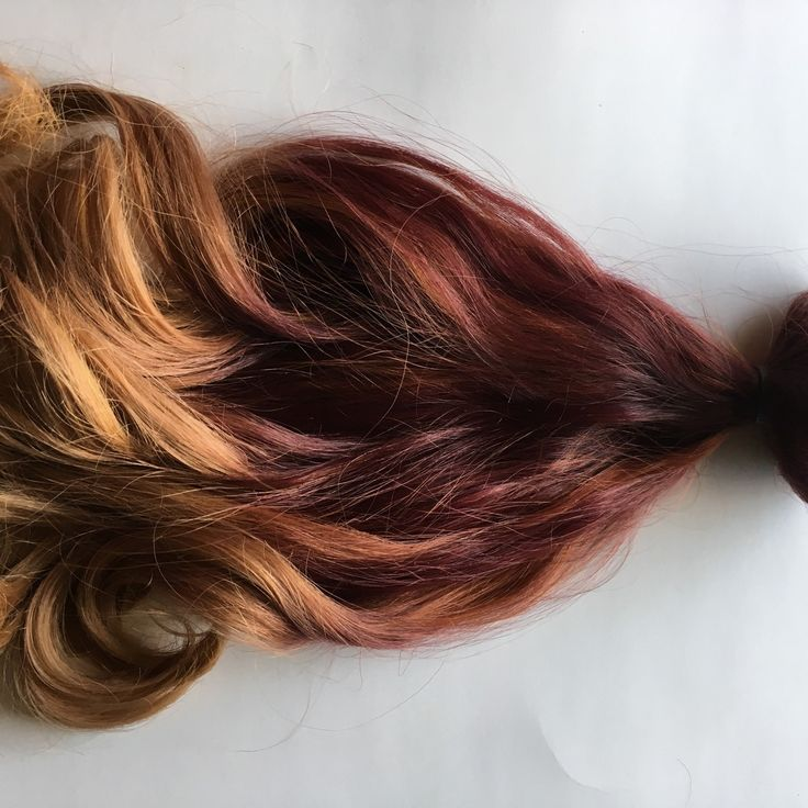 248 best ombre clip fade clip in human hair extensions images on 16 inch ombre red auburn to gold blonde clip fade clip in 100 remy human hair extensions full set double wefted dip dye fade pmusecretfo Image collections