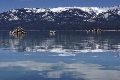 Planes, Trains, and Automobiles: How to Get to Lake Tahoe: Lake Tahoe in Winter