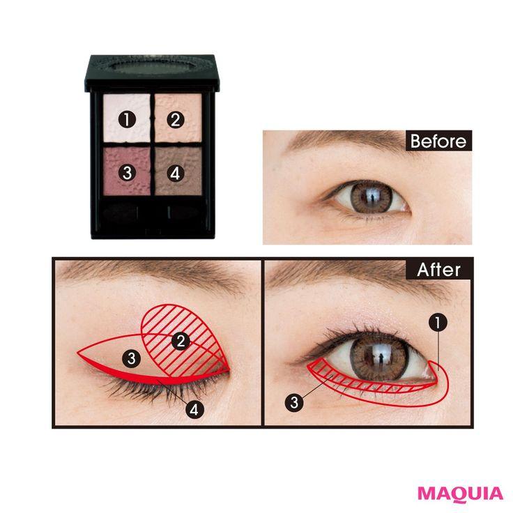 「MAQUIA」4月号では、目の悩みをプロのヘア&メイクアーティストGeorgeさんが解決します。赤紫のシャドウで二重幅を強調するテクニックなどを伝授。お話を伺ったのは…ヘア&メイクアップ  アーティストGeorgeさんQ1 若返り効果のあるデカ目メイクを教えて...