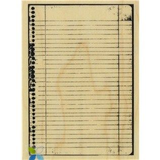 Notebook Border Rubber Stamp | Shop Hobby Lobby