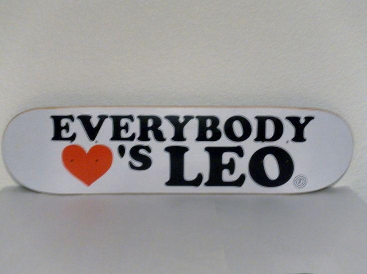 Foundation Skateboard Deck Leo Romero Everybody Loves Leo ( Emerica , Vintage ) in Sporting Goods | eBay