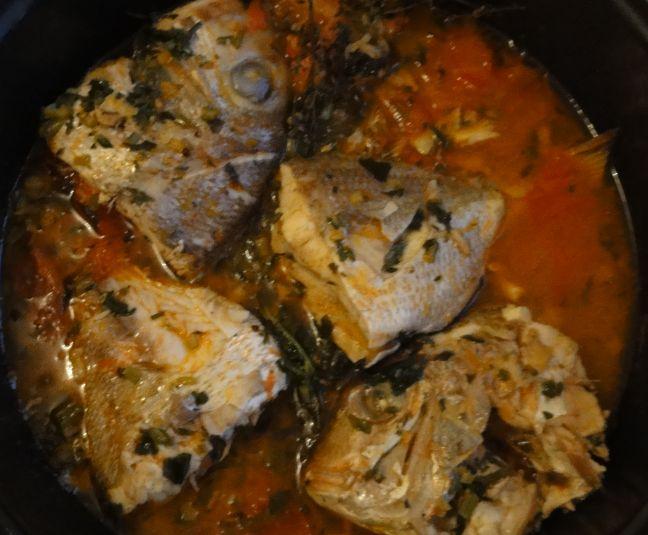 Recette du court bouillon de poisson antillais