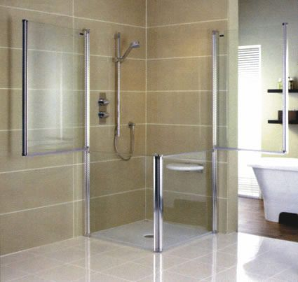 111 best images about wet rooms for the disabled on for Wet room inspiration