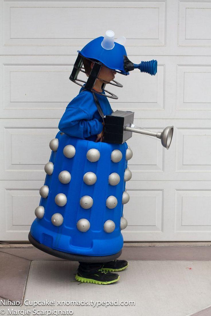 Dalek Costume DIY                                                                                                                                                      More