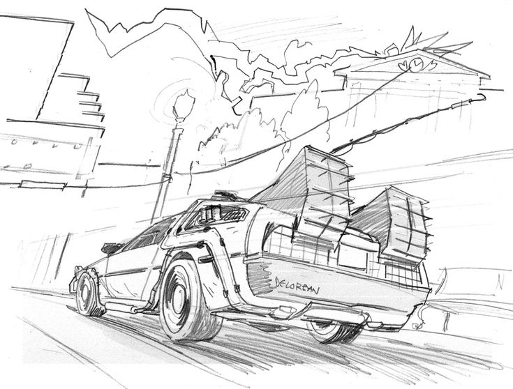 846f2f4b741a17000b2a7c0a7da2842b 131 best images about coloring pages! on pinterest coloring on delorean template