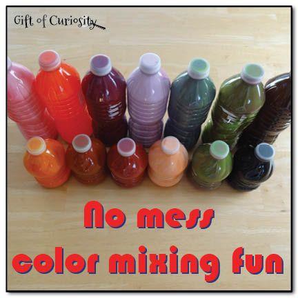 100 best Preschool color mixing images on Pinterest | Activities ...
