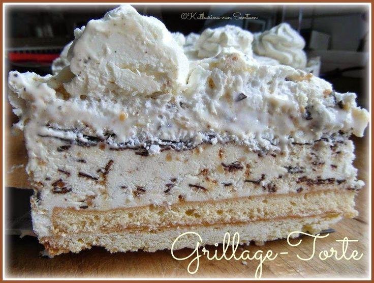Grillage Torte, Eistorte Grillage, Grillage-Eistorte, Café Seeger Nettetal,