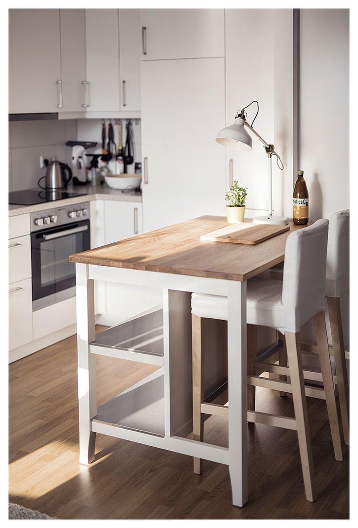 Küche Insel, Frühstück Bar Ikea Ikea Metall War…
