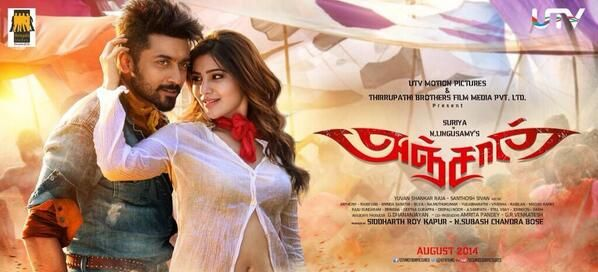 Anjaan 1st look Poster