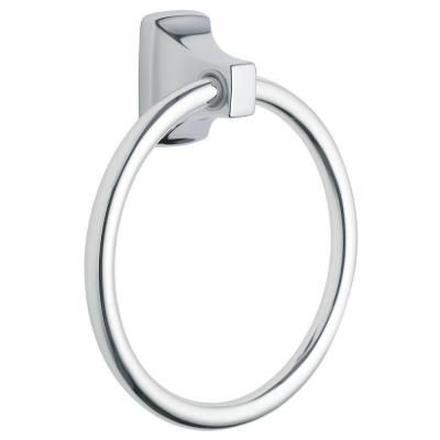 MOEN Contemporary Towel Ring in Chrome-P5860 - The Home Depot