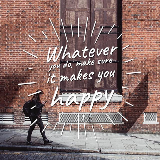 #Life is short! For as much as we can, we must do what makes us happy... say how you feel! Go on that trip! ❤️#quotes