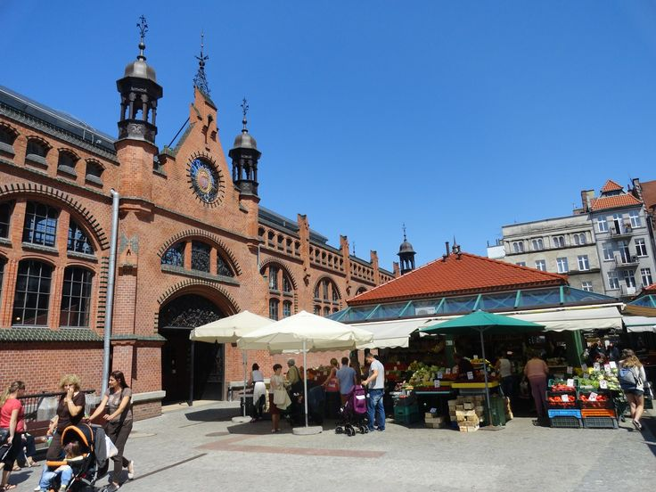 "Hala Targowa or ""Market Hall"", is the one of the most popular shopping centers in Gdansk, and the most popular among tourists. Description from virtualtourist.com. I searched for this on bing.com/images"
