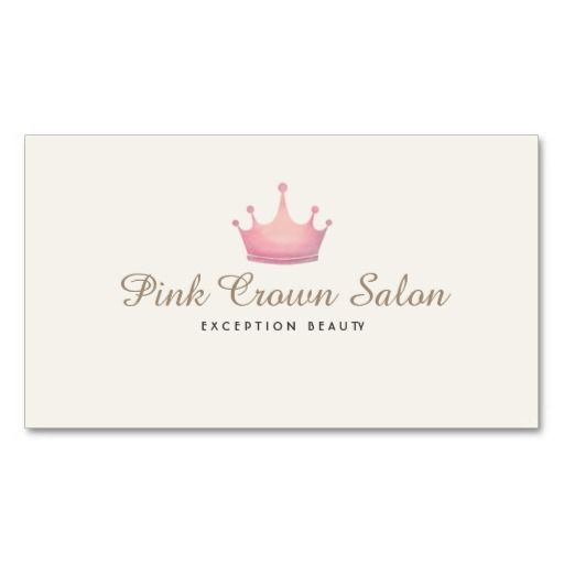 1000 images about my salon one day on pinterest in for Crown business cards