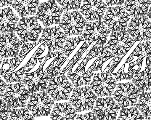 15 best swear word coloring pages images on Pinterest | Coloring ...