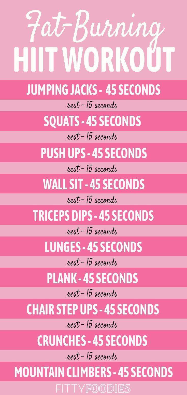 10 Minuten Fettverbrennung HIIT Workout