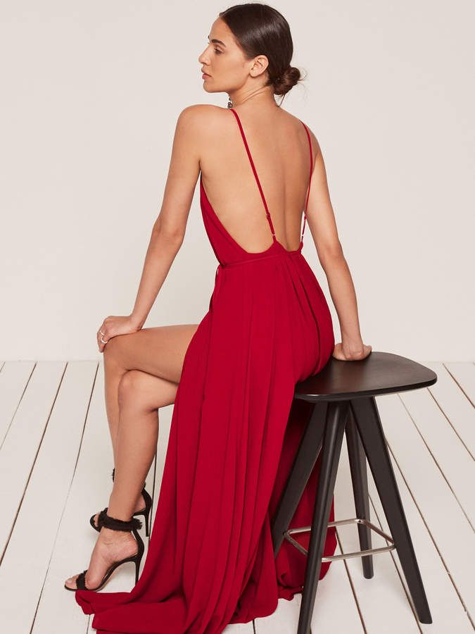 8467a878173c74 Reformation Callalily Dress in 2019 | Beach wedding party dress ...