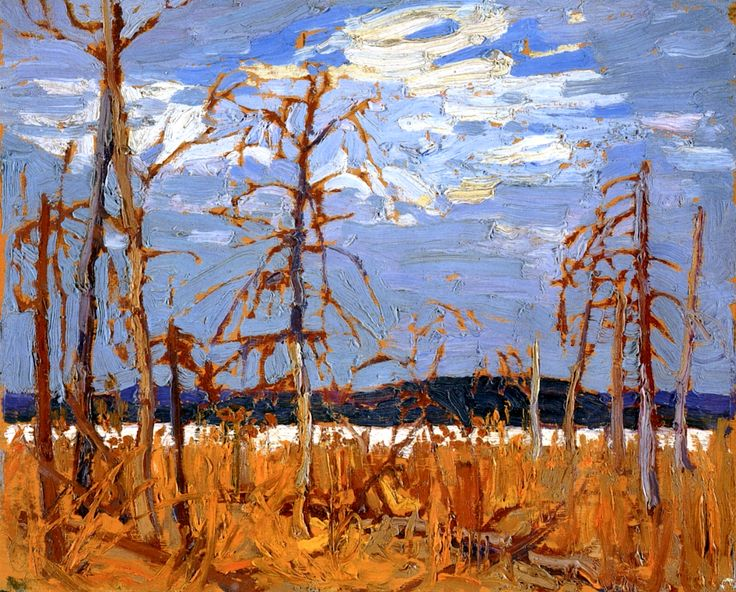 Tamarack Swamp Tom Thomson - 1916