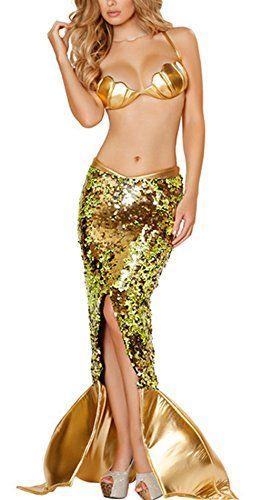 Damen Meerjungfrau Kostüm zu Karneval, Fasching und Halloween | ab €14