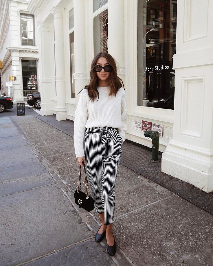 "Gefällt 2,272 Mal, 29 Kommentare - Felicia Akerstrom Ma (@fakerstrom) auf Instagram: ""Finally found the perfect striped pants  more of this look on my blog!"""