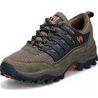 [NaturalHome] Марка мужчины спортивная обувь горные ботинки противоскольжения army green открытый восхождение дышащий спортивное походная обувь