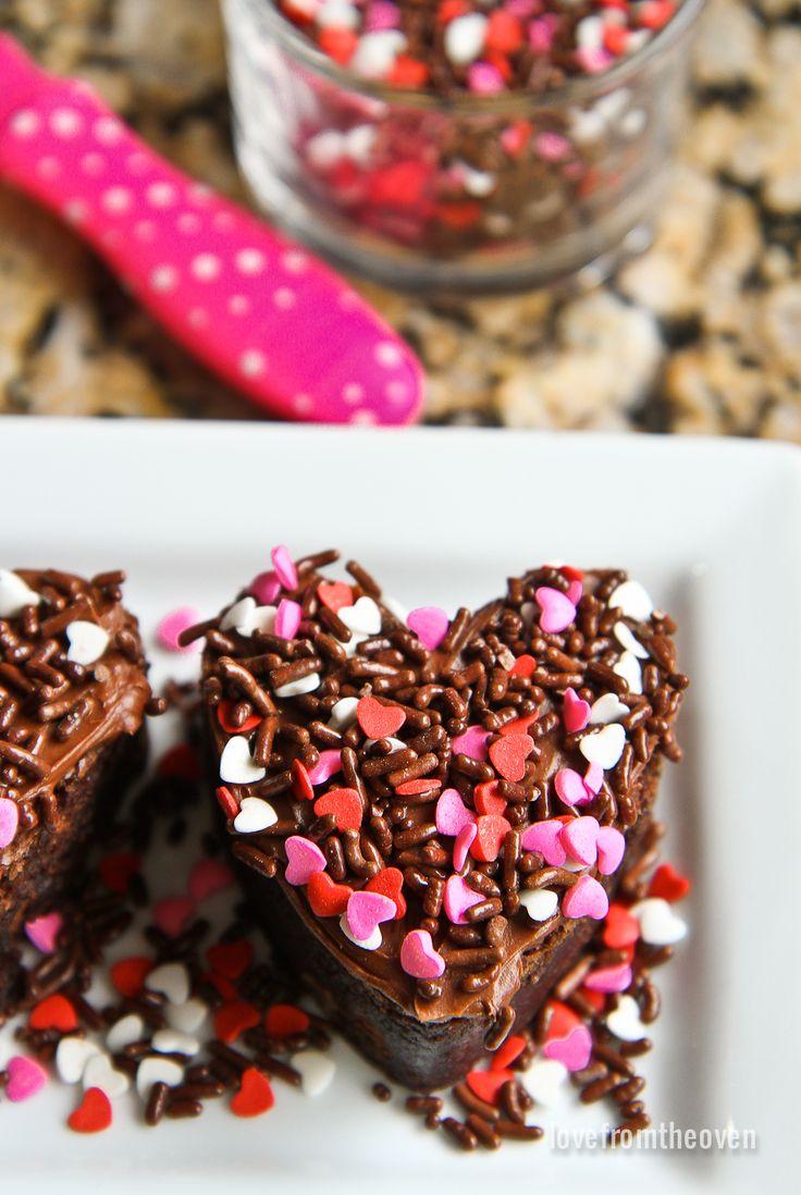 Valentine Brownie: Valentines Baking, Yummy Sweets
