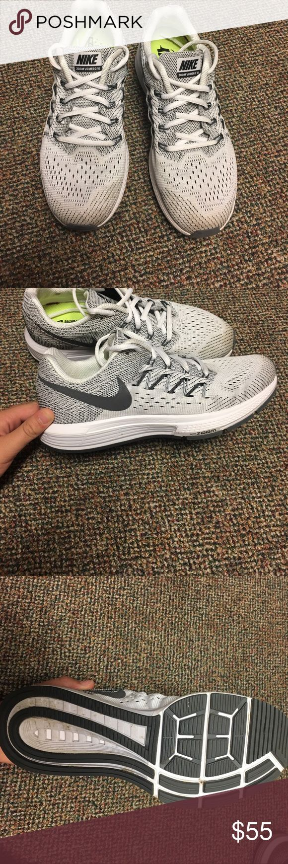 Nike Zoom Vomero 10 Super comfortable, only worn twice, in near perfect condition! I am open to reasonable offers or trades! Let me know if you have any questions! Nike Shoes Athletic Shoes