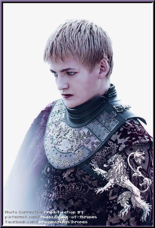 "Jack Gleeson as ""King Joffrey Baratheon"""