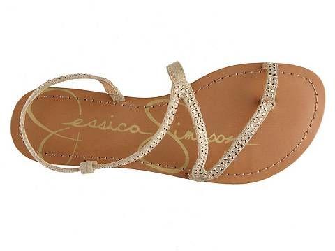 Jessica Simpson Javon Flat Sandal | DSW $45