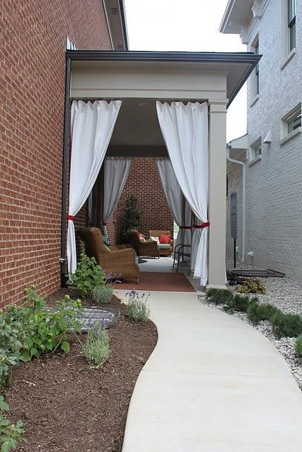 best 25 patio curtains ideas on pinterest outdoor curtains outdoor curtains for patio and. Black Bedroom Furniture Sets. Home Design Ideas